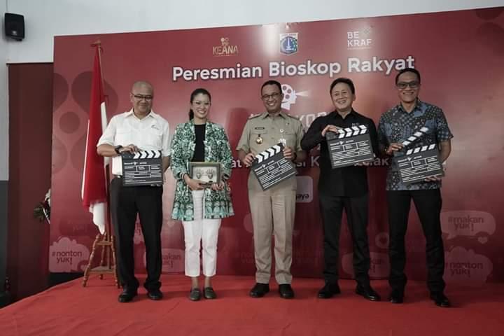 Harga Terjangkau, Bioskop Rakyat Kembali Hadir di Jakarta