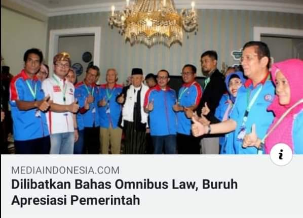 DPD KSPSI Banten Menolak Keras Draft RUU Cipta Kerja/Omnibus Law