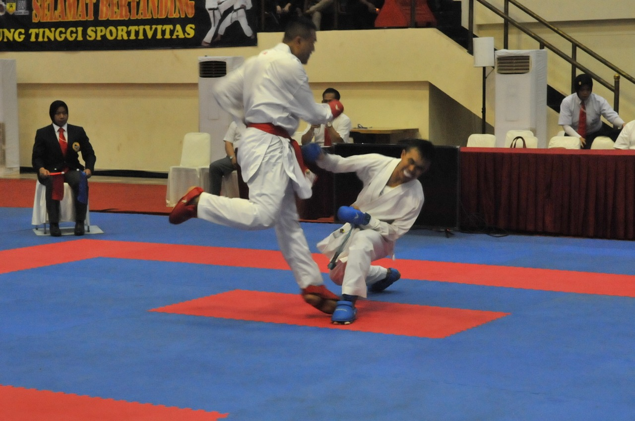 Mabes AD Best of The Best Kejurnas Karate Panglima TNI Ke-VII