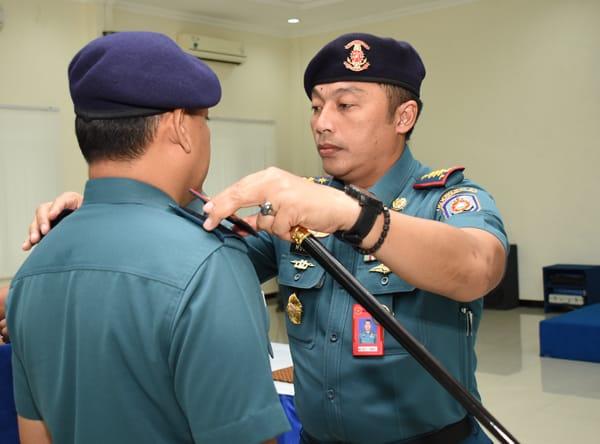 Letkol Laut (P) Herbiyantoko M.Tr Hanla Jabat Komandan Sekolah Fungsi Kodiklatal