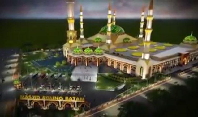 Masjid Sultan Mahmud Riayat Syah Makin Megah, Berikut Faktanya
